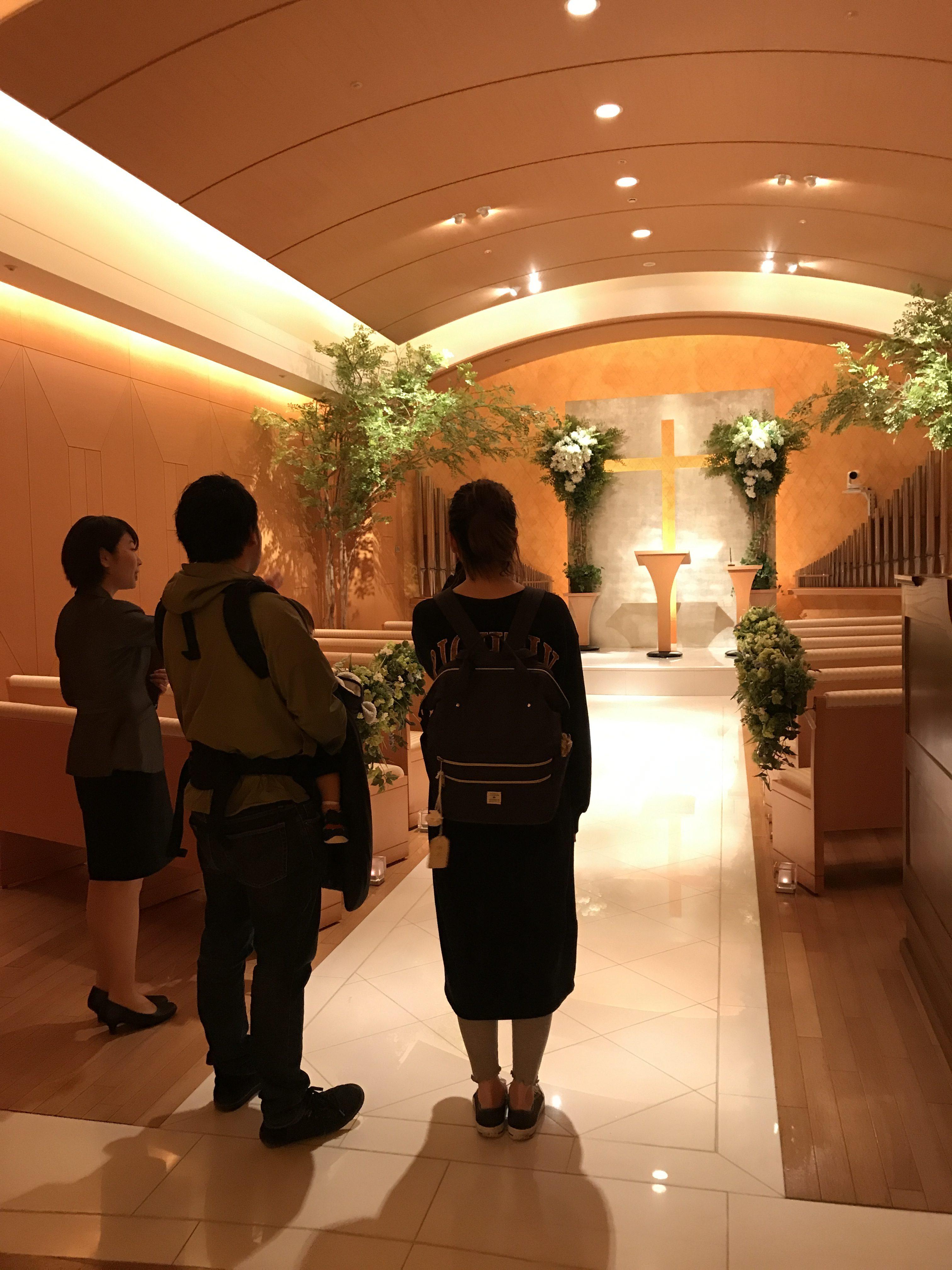 会場見学同行してきました♪|横浜 元町 ウエディングサロン
