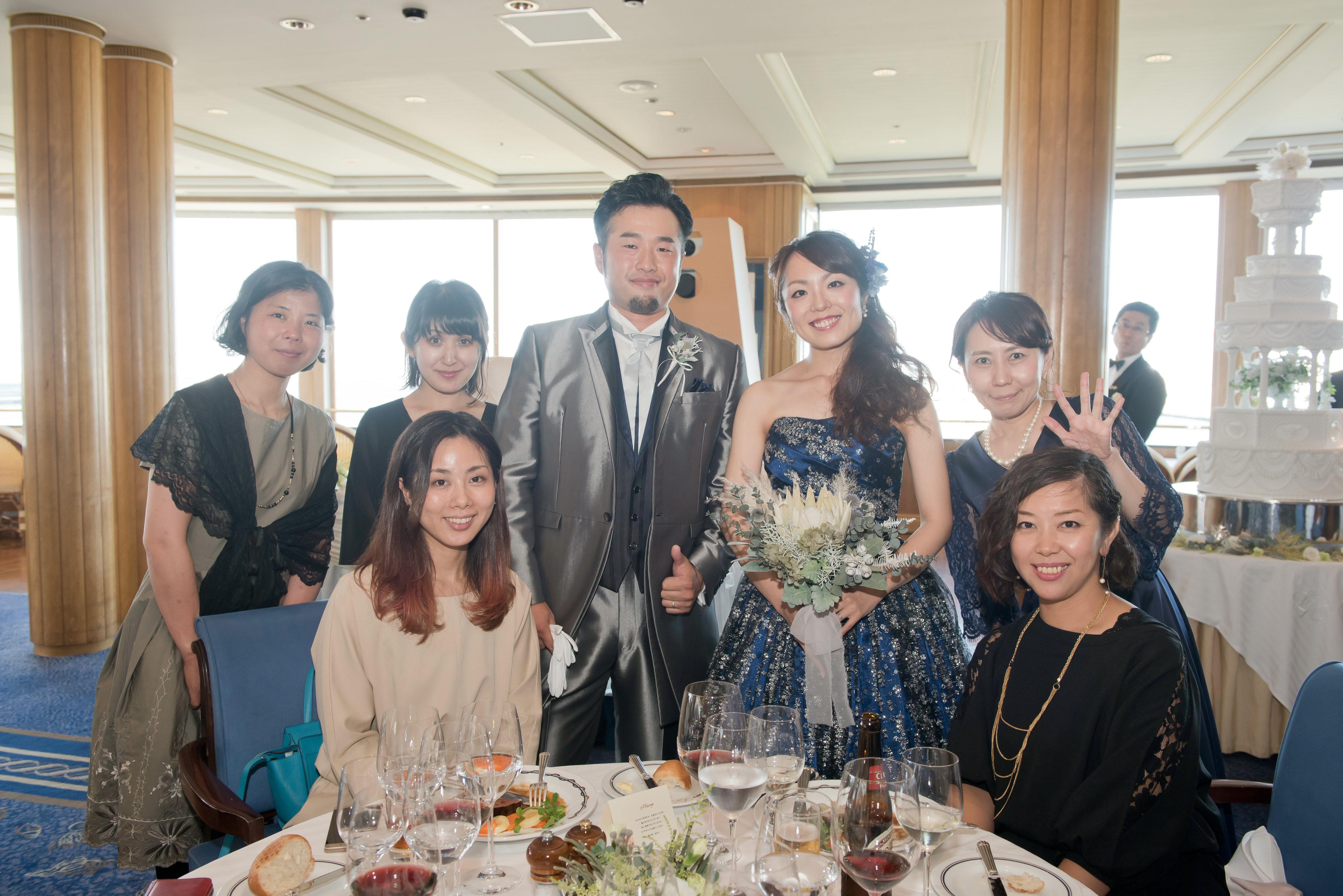 ゲストも嬉しい各卓フォトサービス♪|横浜 元町 ウエディングサロン