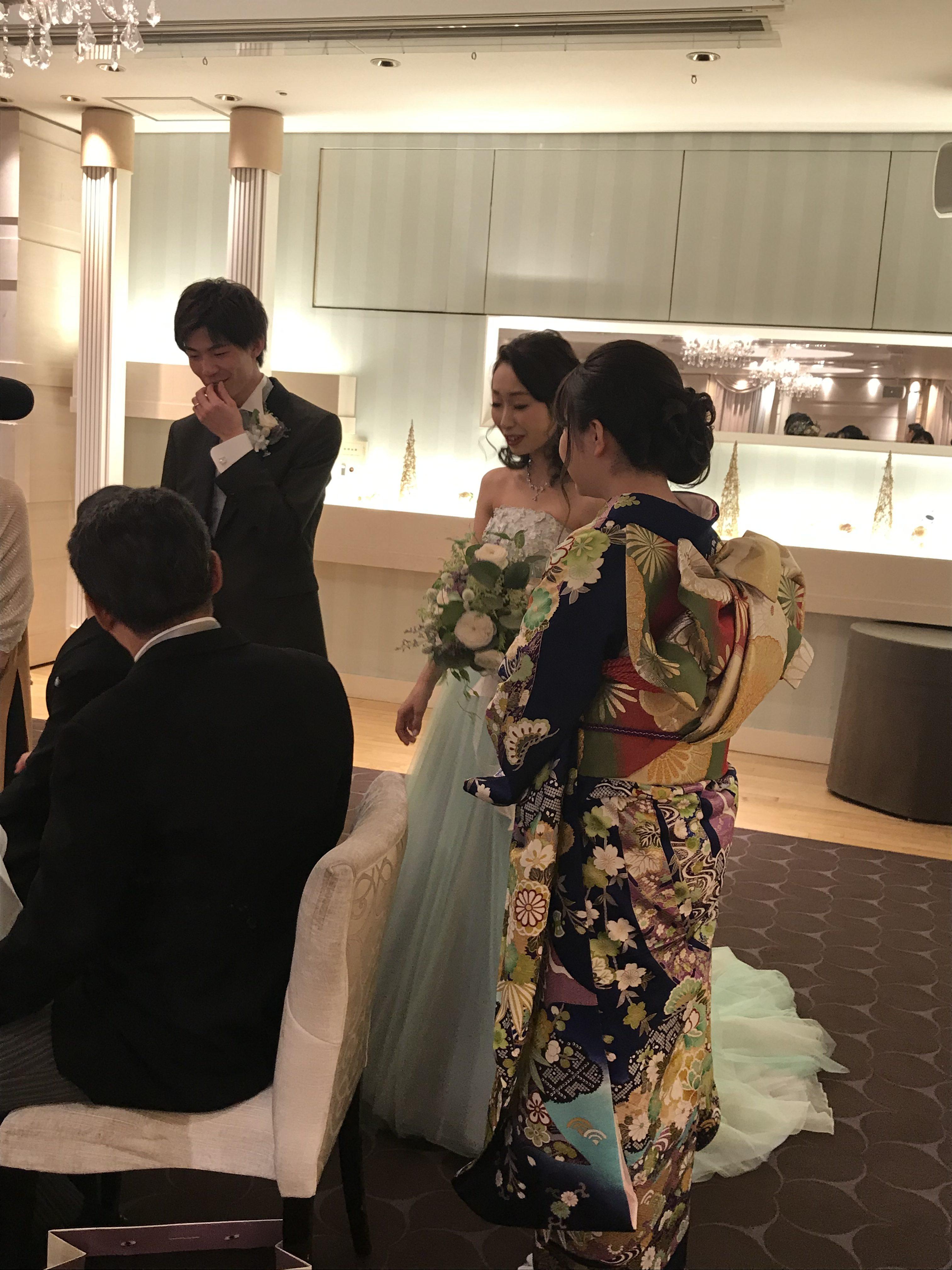 (卒花嫁さまから)結婚式ってたのしい♪|横浜 元町 ウエディングサロン